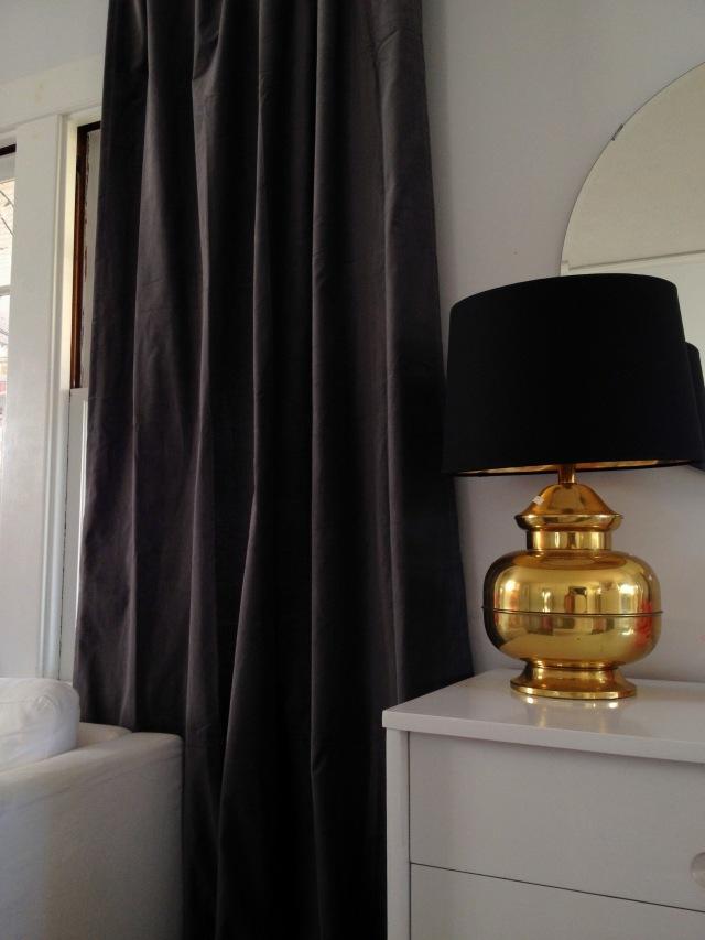 brass lamp entry